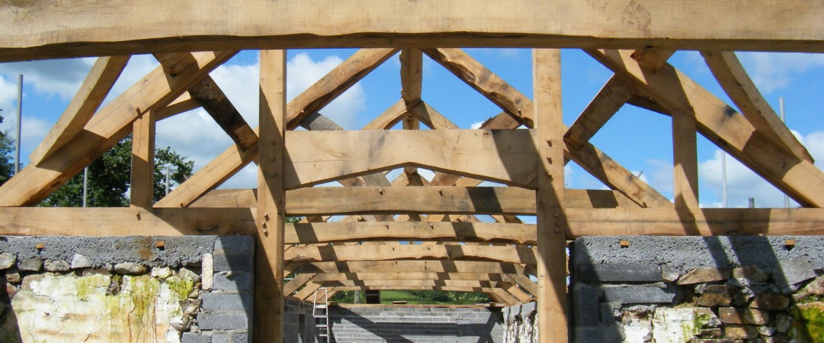 Cwrt Malle Barn Roof