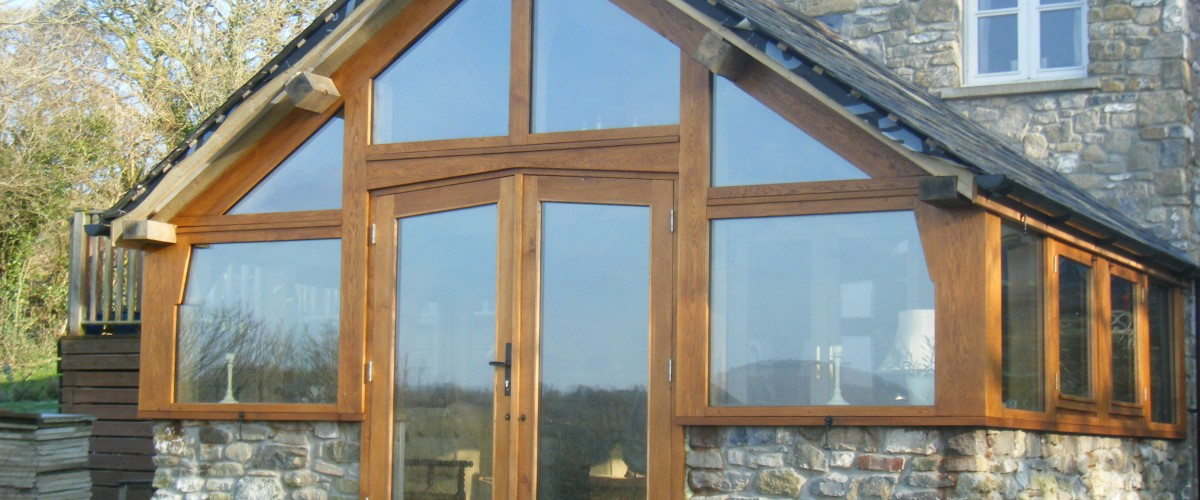 Wood Framed Conservatory