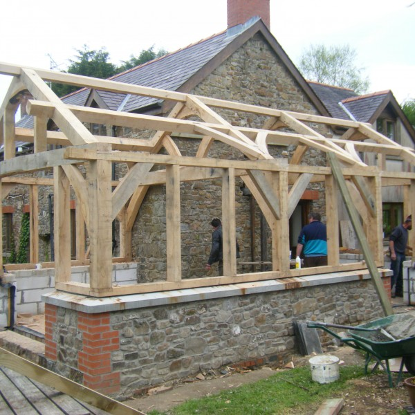 Timber Frame Extension
