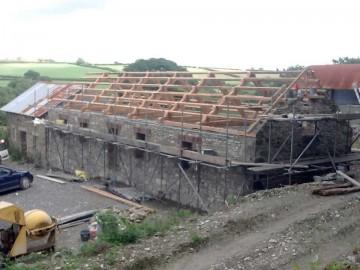 Waun Fach Barn Roof